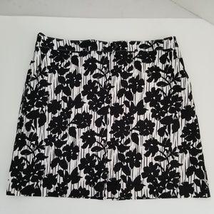 Izod Black and White Golf Tennis Skort